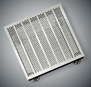Стальная вентиляционная панель